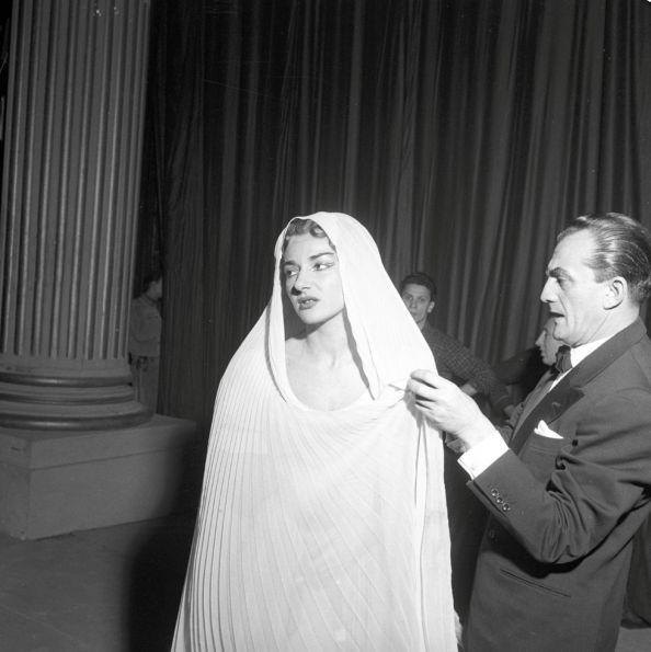 Callas with Visconti