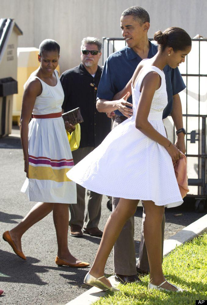 Malia Obama Happy Birthday July 4th