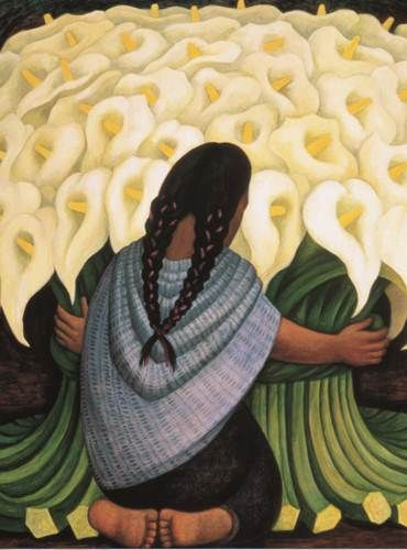 Diego Rivera, Vendedora de alcatraces