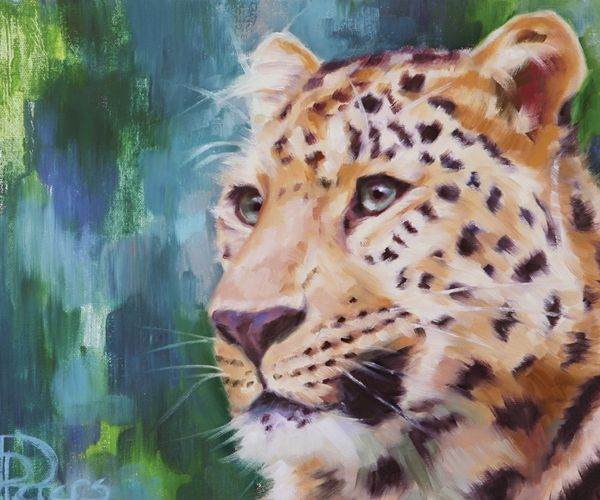 Deborah Falconer Eye How She Lost It | Isn't the leopard such an Exquisite creature?