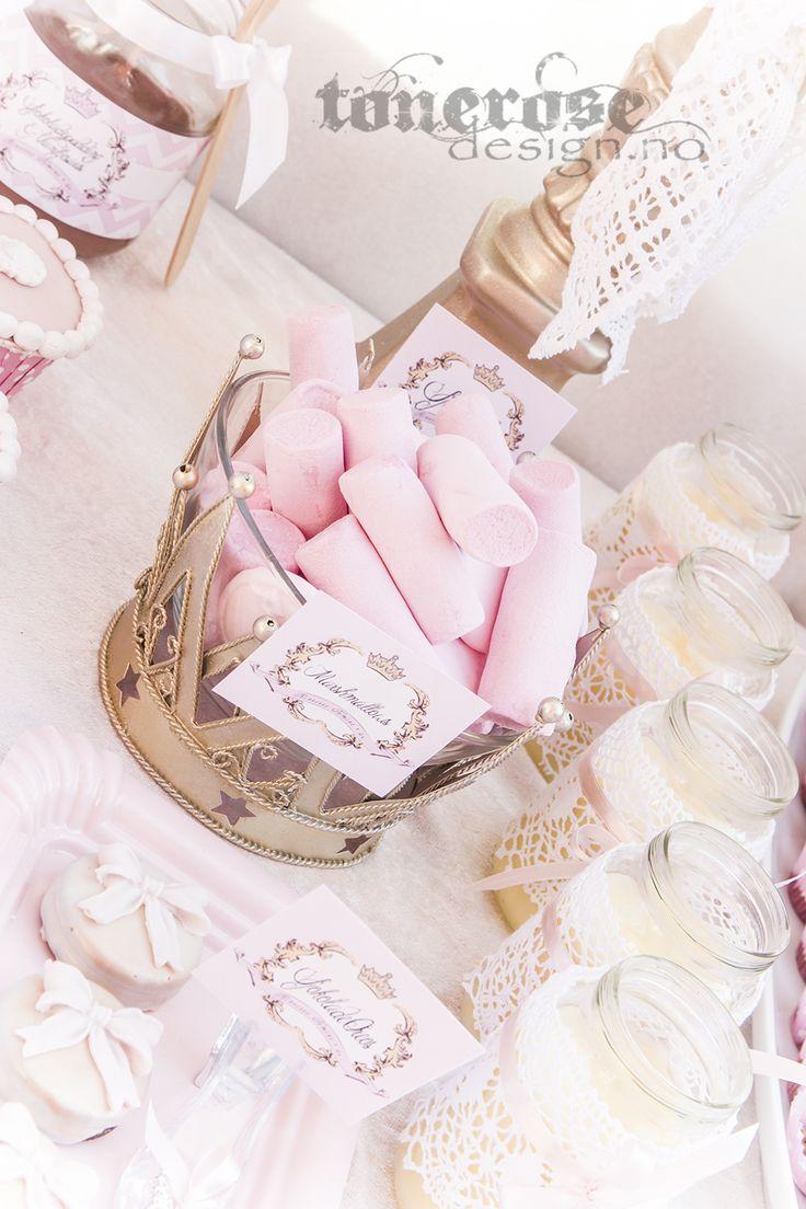 Princess pink marshmallows