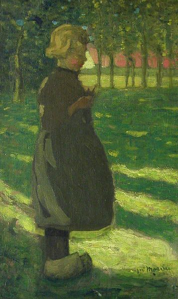 James Wilson Morrice, 'Jeune Fille Hollandaise' at Mayberry Fine Art