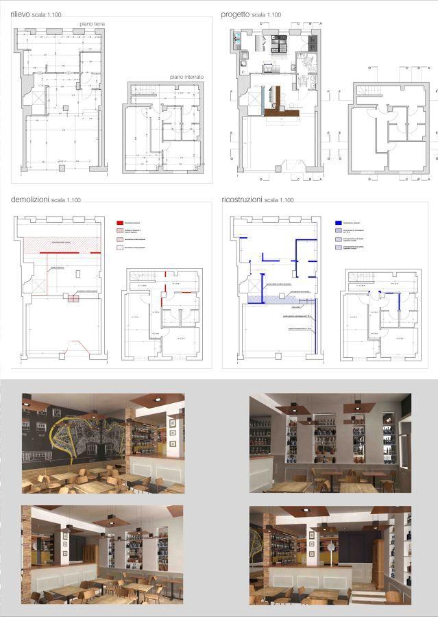 Progetto architettonico ristorante Pinturicchio40 in Habitissimo