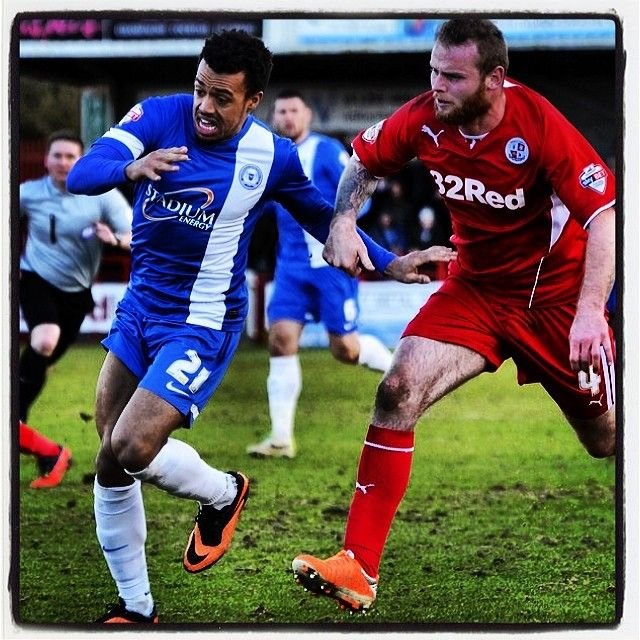 Blue v Red #football #soccer #crawley #town #peterborough #united #skybet #league1 #ajose #connolly
