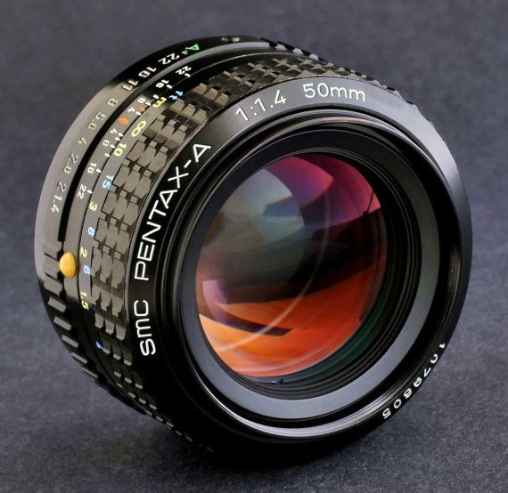 Pentax SMC Pentax-A 50mm f/1.4 Prime Lens 4 by ACECameraExchange