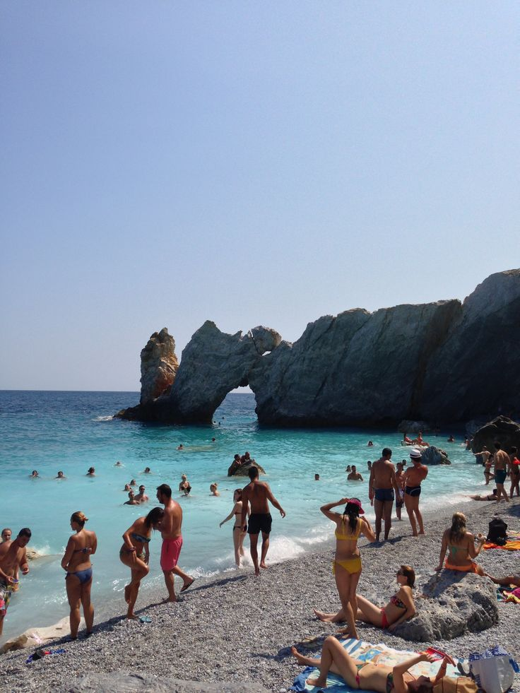 Lalaria beach, Skiathos, Greece by Arban Bushi
