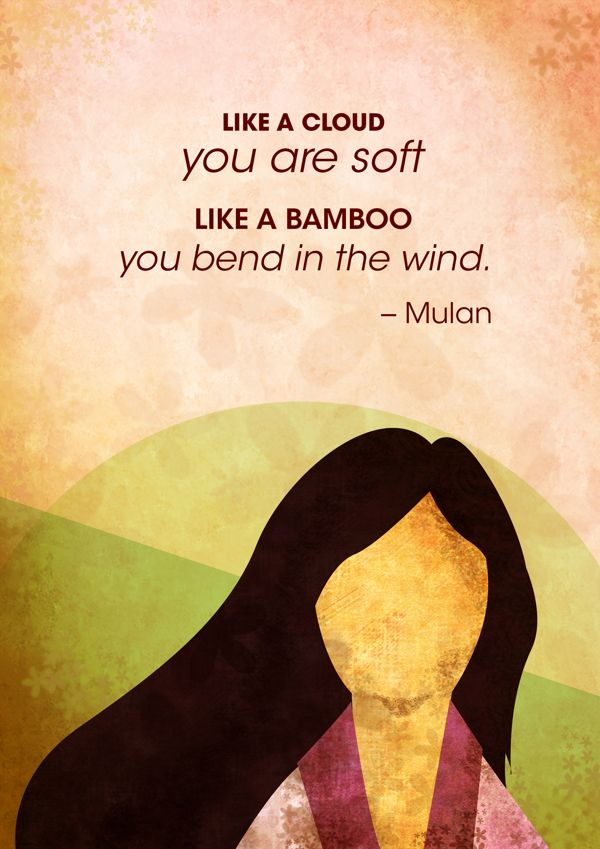 Mulan Quotes on Behance
