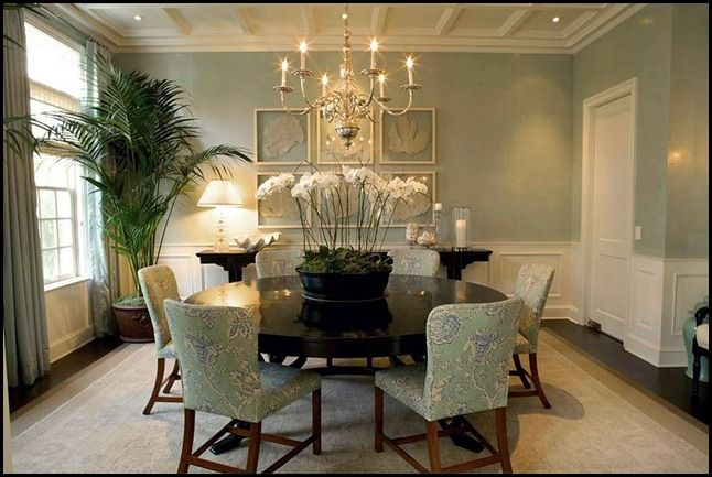 Dining Room - love the colors