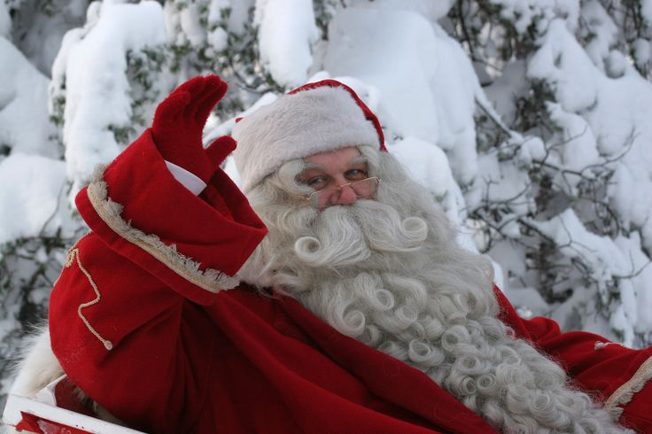 Santa Claus or Father Christmas. No matter how you call him, this lenient Finnish man is familiar to all of us.  #Santa #Christmas #Finland