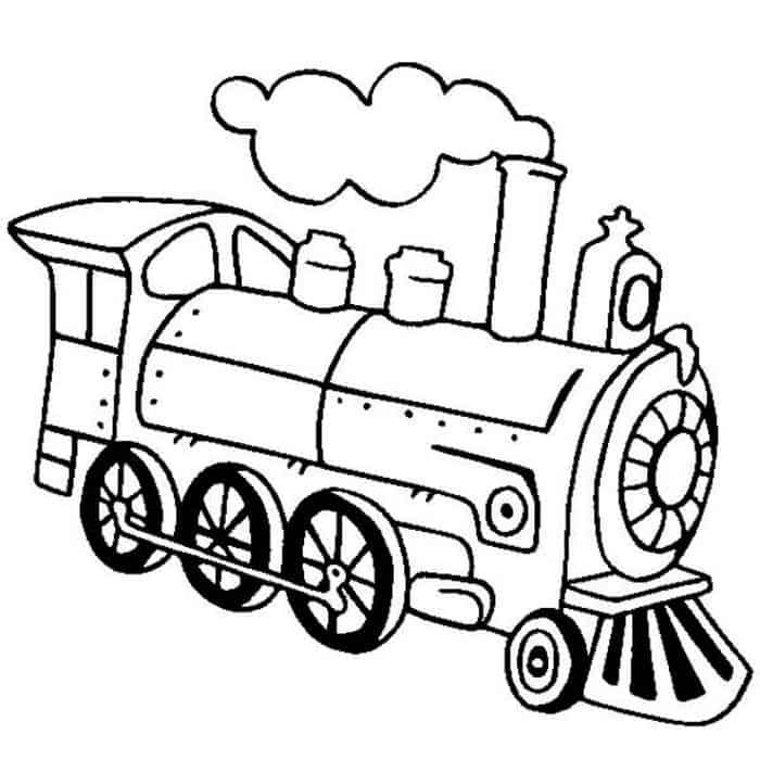 Free Printable Train Coloring Pages Train Coloring Pages Coloring Pages Train Drawing