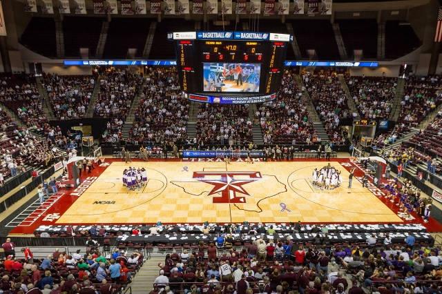 Reed Arena, Texas AM basketball