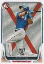 2014 Bowman International #89 Alex Rios Texas Rangers