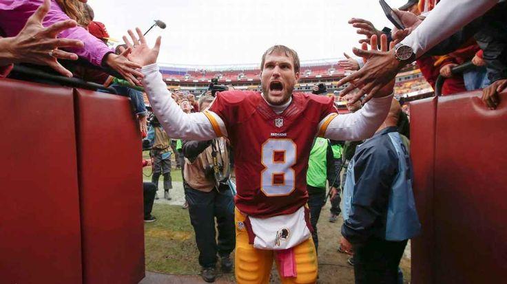 Washington Redskins place non-exclusive franchise tag on quarterback Kirk Cousins #KirkCousins #WashingtonRedskins