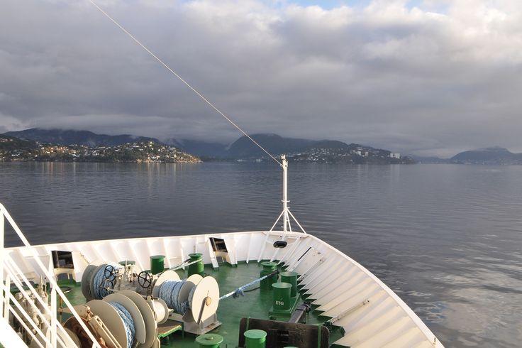 By #Hurtigruten in the fjords to #Bergen #Norway