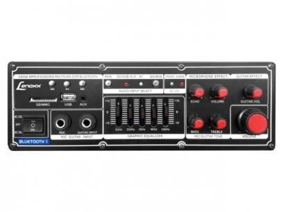 Caixa de Som Bluetooth Lenoxx CA 313 150W USB - Subwoofer e Microfone Sem Fio Entrada SD com as melhores condições você encontra no Magazine Slgfmegatelc. Confira!