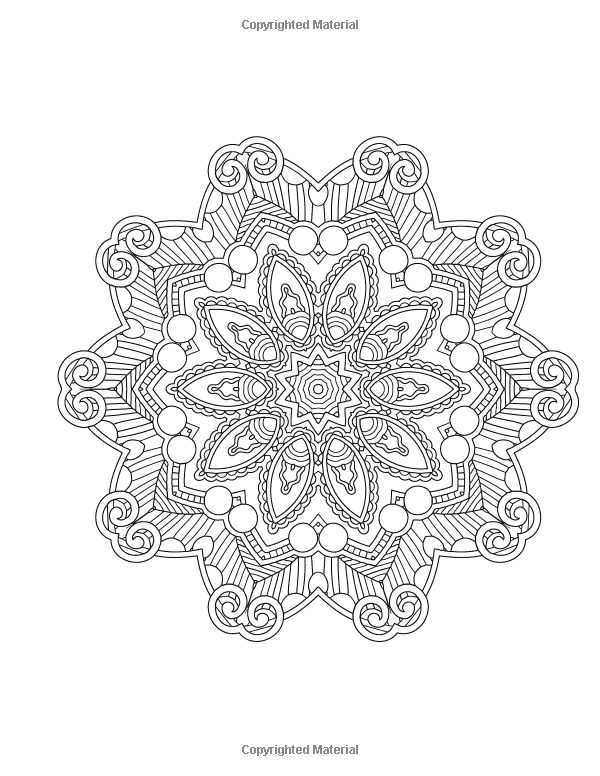 Mood Enhancing Mandalas Mandala Coloring Books For Relaxation Meditation And Creativity Volume