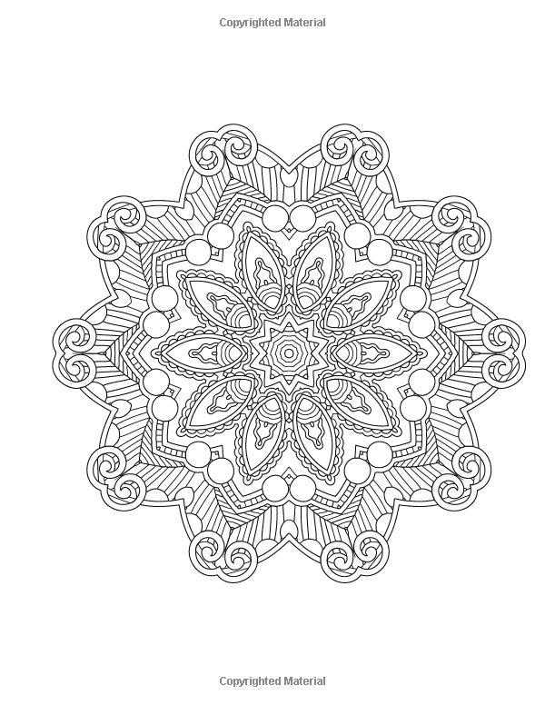 Mood Enhancing Mandalas Mandala Coloring Books For Relaxation Meditation And Creativity Volume