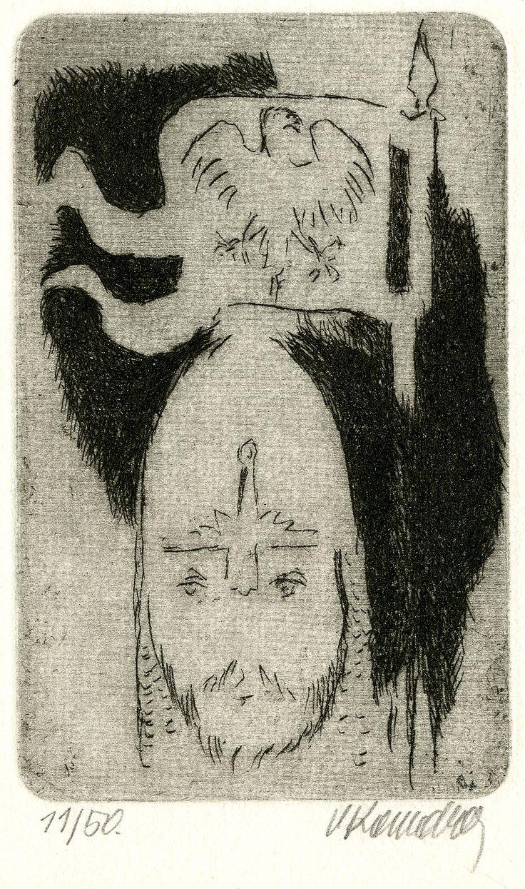 Vladimír Komárek: Svatý Václav (Saint Wenceslaus), 2. polovina 20. století