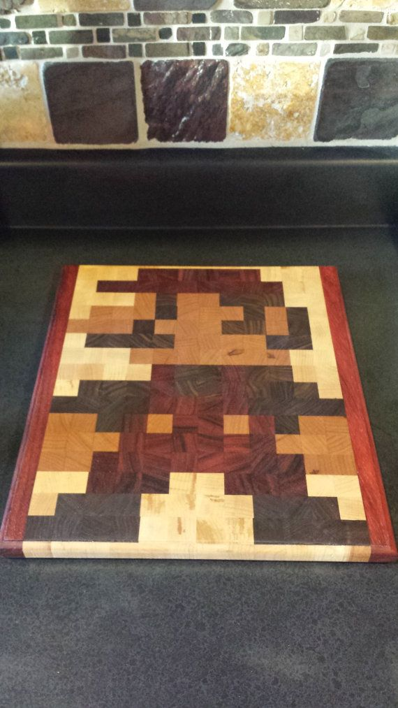 Mario Cutting Board Woodworking Projects Amp Plans