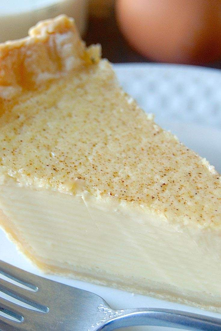 Custard Pie Recipe