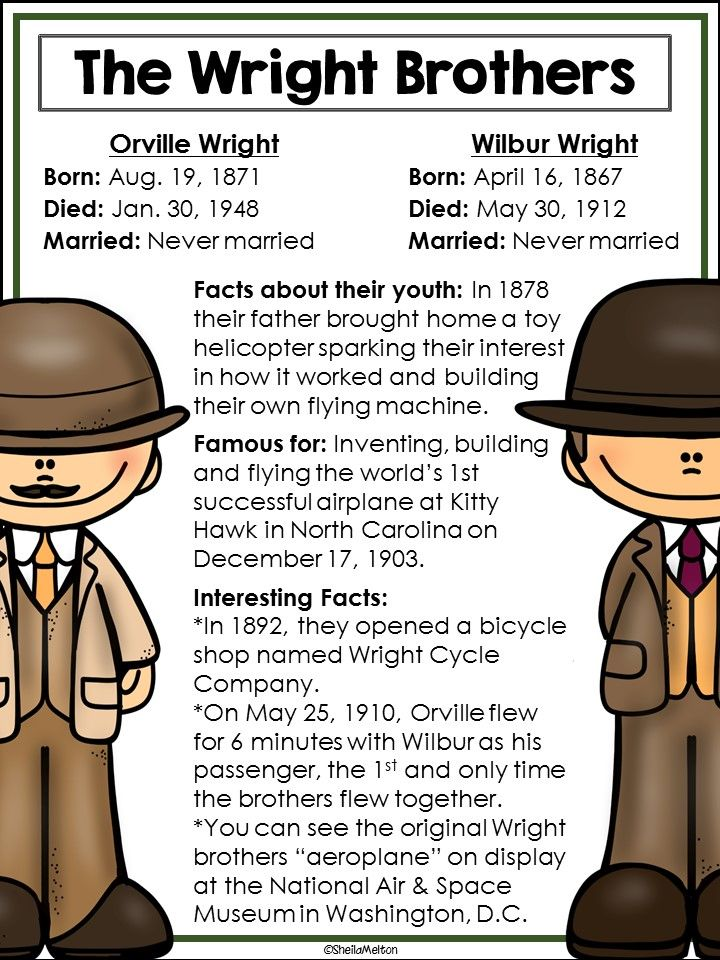 the wright brothers inventors of the They didn't people all over the world had been trying to create a working  airplane for years once gasoline engines became available, airplanes were  inevitable.