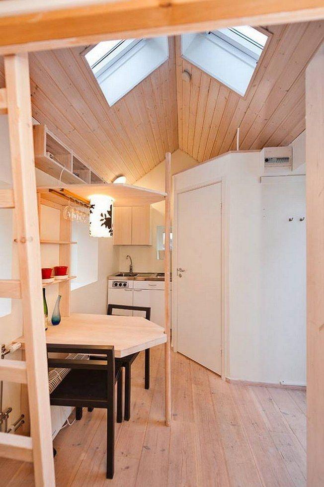 瑞典最小公寓,僅3.5坪樣樣俱全!