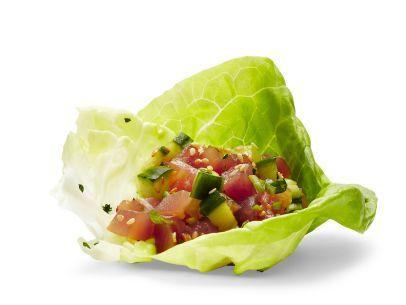 Tuna Poke Recipe : Food Network Kitchen : Food Network