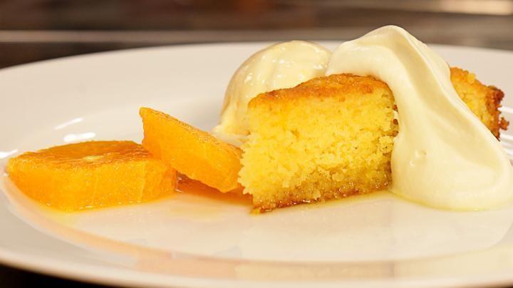 MasterClass Episode 7 - Almond and Orange Syrup Cake