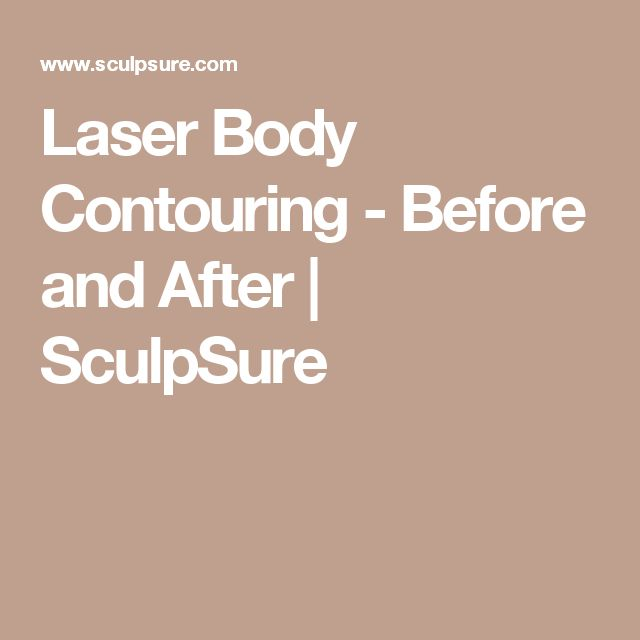 Laser Body Contouring - Before and After | SculpSure