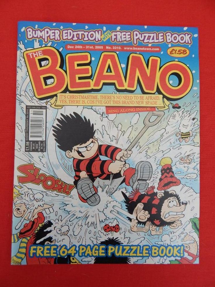 Beano Christmas/NY edition Comic 25th December 2005 - Nostalgic/retro gift - VGC