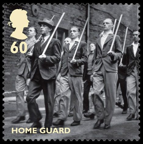 Royal Mail World War II Stamps - Home Guard 60p stamp