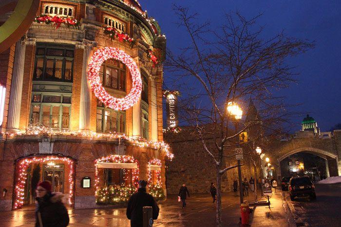 Le Capitole de Québec #quebecregion #Christmas #Holidays #Noel