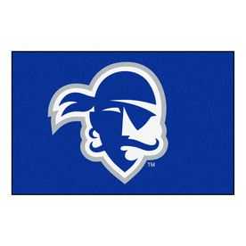Fanmats Seton Hall University Rectangular Indoor Machine-Made Sports Throw Rug (Common: 1-1/2 X 2-1/2; Actual: 1.583-Ft