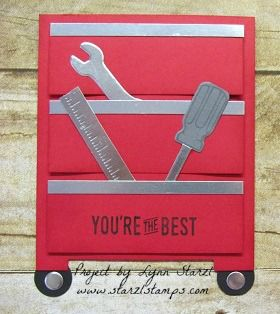 Tool Chest card by starzlmom28 - Cards and Paper Crafts at Splitcoaststampers