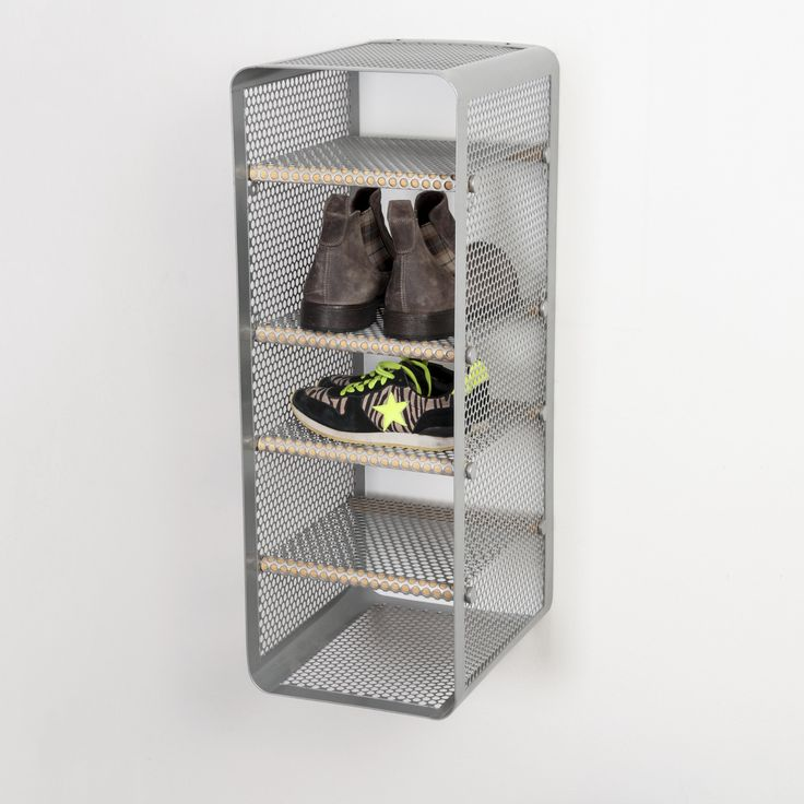 Tica Copenhagen | Shoe rack grey | Storage | Closet