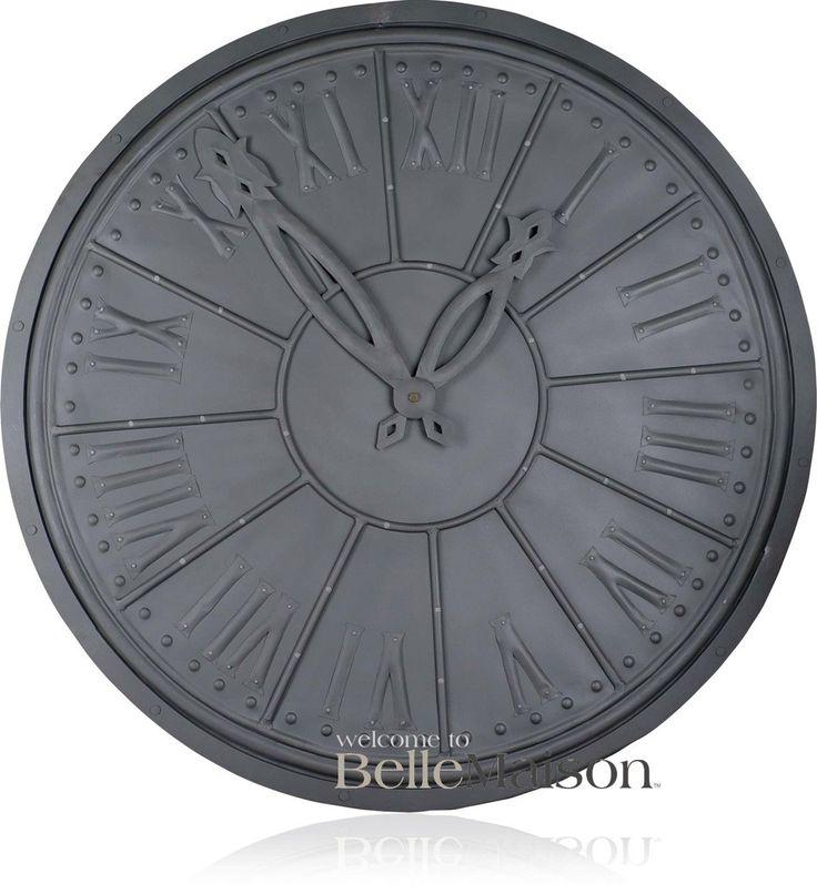 Dekoracja Zegar Iron 100 cm - BelleMaison.pl