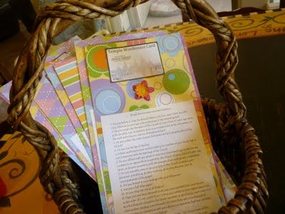 Jenkins Kid Farm: Temple Worthiness Card - Young Women's Handout