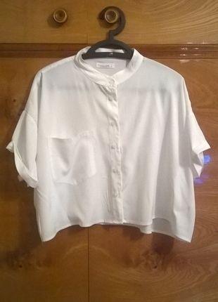 Kup mój przedmiot na #vintedpl http://www.vinted.pl/damska-odziez/koszule/12532696-biala-koszula-crop