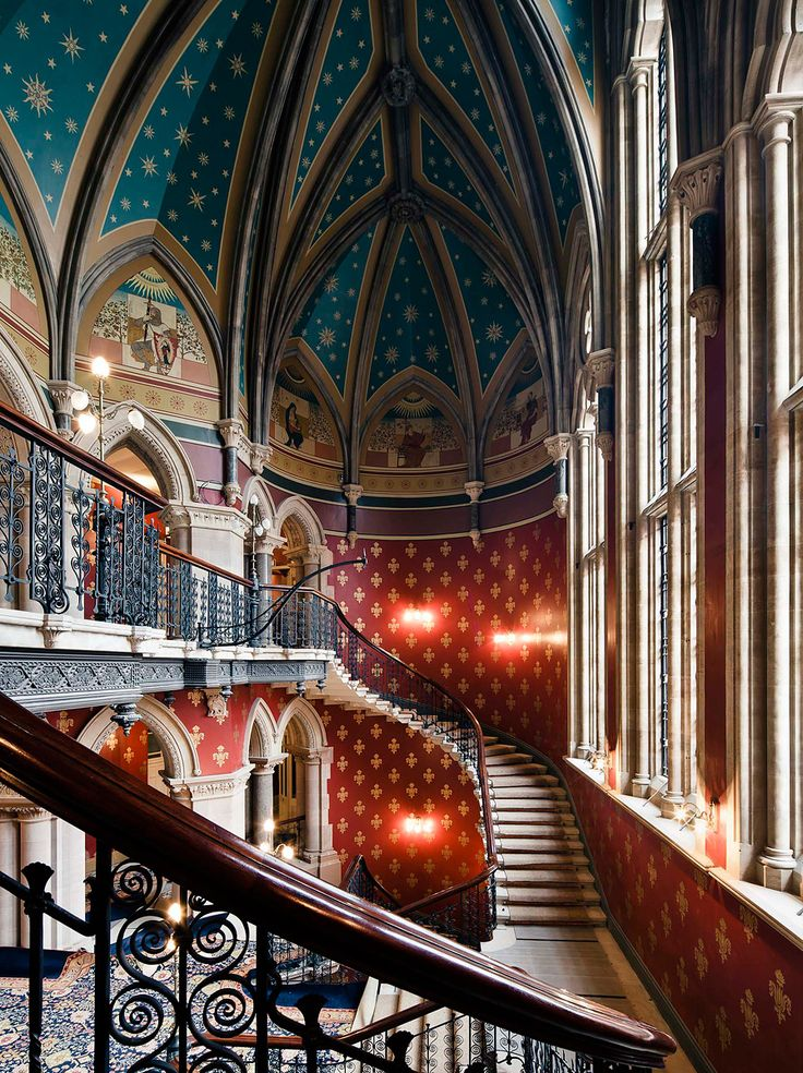 St. Pancras Hotel, London - Sir George Gilbert Scott - http://media.vogue.com/files/