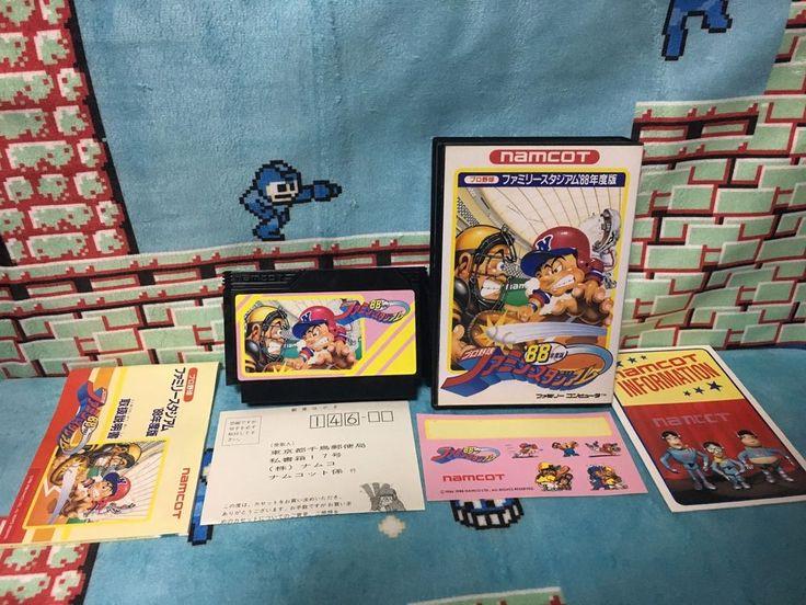 Pro Yakyuu Family Stadium '88 Famicom Japan NTSC-J Nintendo boxed set Namco