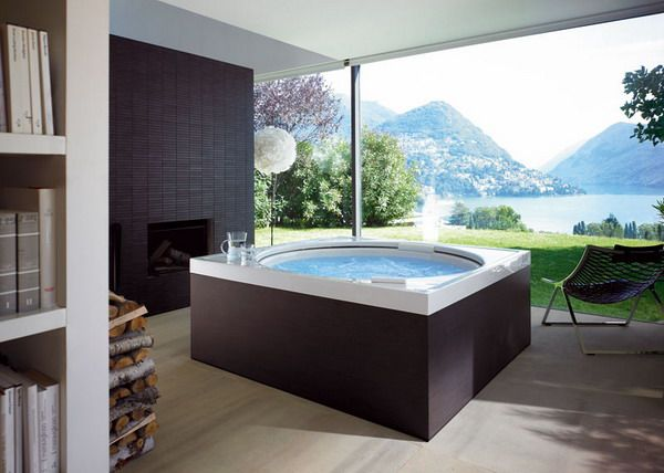 Photo Album For Website Modern Bathroom Jacuzzi with Beautiful View