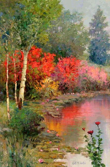Pin by Brenda Currie on Learning to paint   Pinterest   Paintings, Watercolor trees and Watercolor