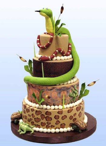 Best Images About Reptile Party On Pinterest Birthdays Snake - Snake birthday cake