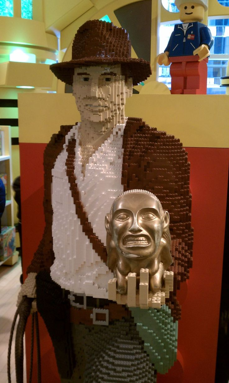 Indiana Jones Lego - well this hits all the geek points. Love it! #80s