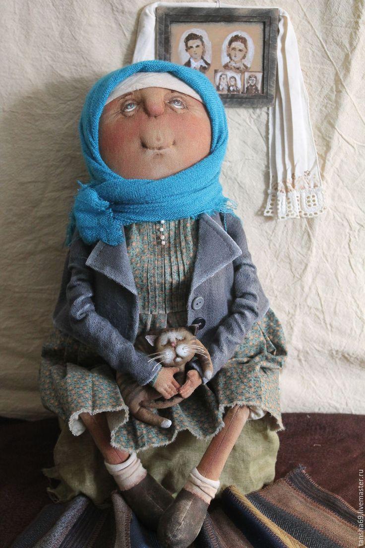 Купить Воспоминания... - комбинированный, текстильная кукла, ароматизированная кукла, интерьерная кукла, деревенский стиль, ткань