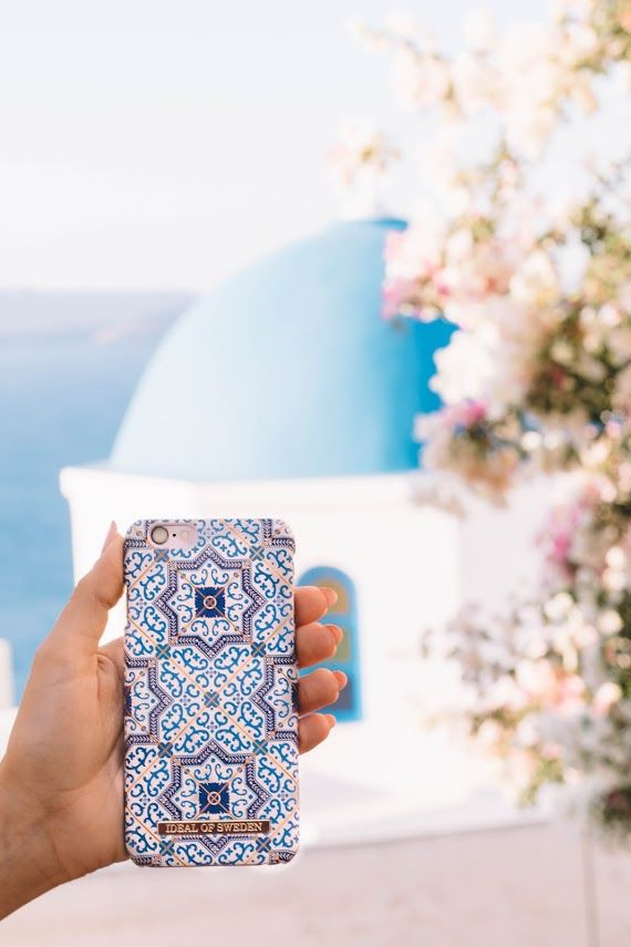 Marrakech by @light.travels - Fashion case phone cases iPhone inspiration iDeal of Sweden #pattern #mosaic #accessories #phonecase #iphone #fashion #details #vacation #greece #blue