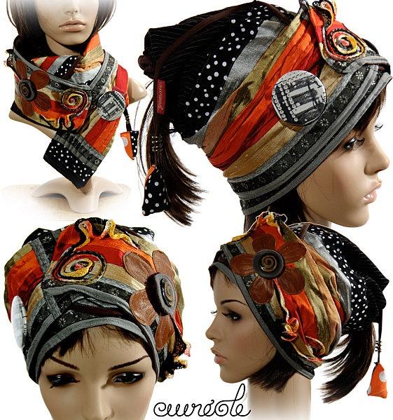 turban-écharpe