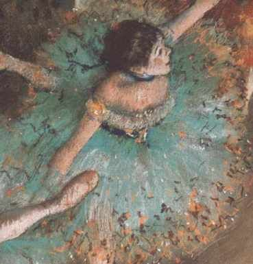 Hilaire Germain Edgar Degas (1834-1917), france - the green dancer, 1879 -