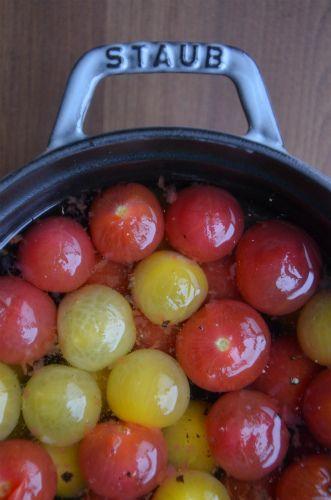 ストウブで「ミニトマトのピクルス」ほど塩レシピ by ジュンジュンさん ...