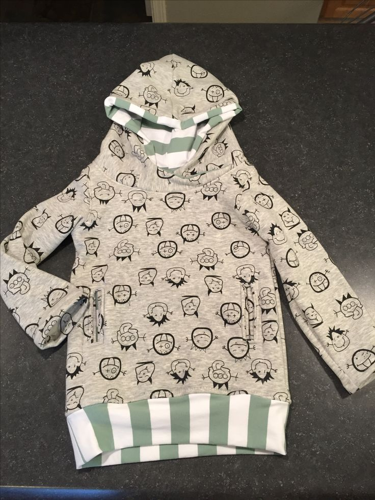 Pattern: Maritime Hoodie by the Crafty Kitty
